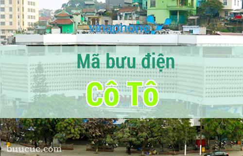 Mã bưu điện Cô Tô, Quảng Ninh