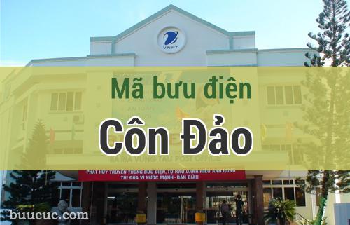 Mã bưu điện Côn Đảo, Bà Rịa Vũng Tàu