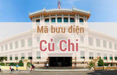 Mã bưu điện Củ Chi, Hồ Chí Minh