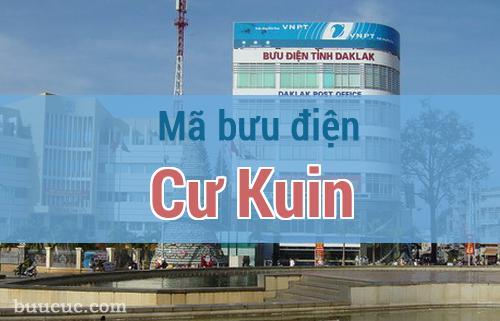 Mã bưu điện Cư Kuin, Đắk Lăk