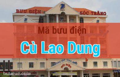 Mã bưu điện Cù Lao Dung, Sóc Trăng