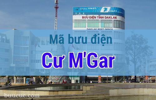 Mã bưu điện Cư M'Gar, Đắk Lăk