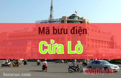 Mã bưu điện Cửa Lò, Nghệ An