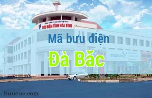 Mã bưu điện Đà Bắc, Hoà Bình