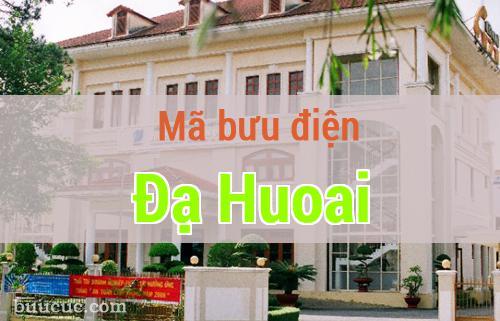 Mã bưu điện Đạ Huoai, Lâm Đồng