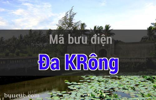Mã bưu điện Đa KRông, Quảng Trị