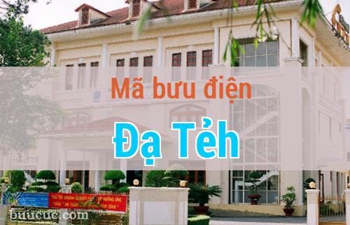 Mã bưu điện Đạ Tẻh, Lâm Đồng
