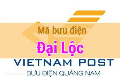 Mã bưu điện Đại Lộc, Quảng Nam