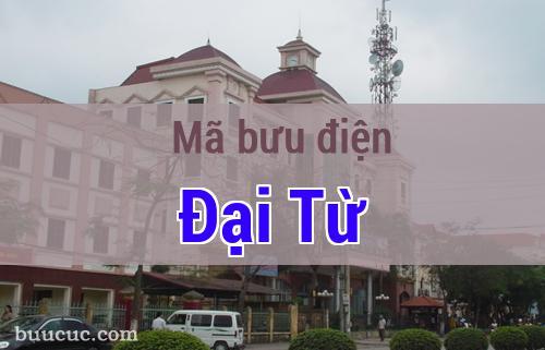 Mã bưu điện Đại Từ, Thái Nguyên