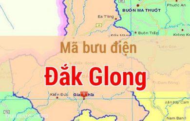 Mã bưu điện Đắk Glong, Đắk Nông
