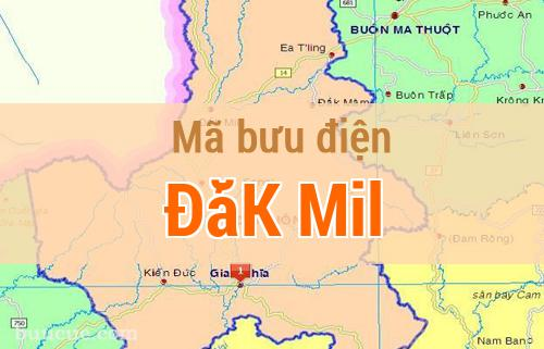 Mã bưu điện ĐắK Mil, Đắk Nông