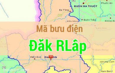 Mã bưu điện Đắk RLấp, Đắk Nông