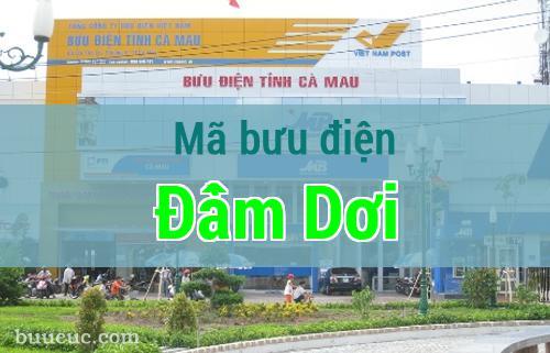 Mã bưu điện Đầm Dơi, Cà Mau