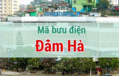 Mã bưu điện Đầm Hà, Quảng Ninh