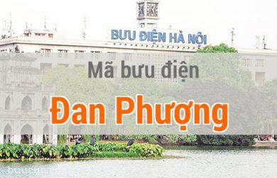 Mã bưu điện Đan Phượng, Hà Nội