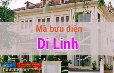 Mã bưu điện Di Linh, Lâm Đồng