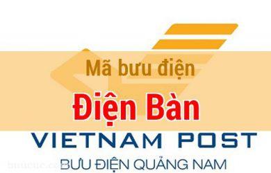 Mã bưu điện Điện Bàn, Quảng Nam