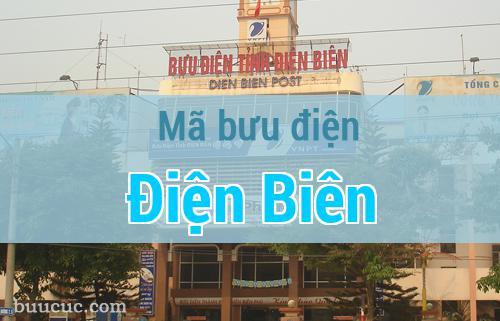 Mã bưu điện Điện Biên, Điện Biên