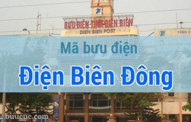 Mã bưu điện Điện Biên Đông, Điện Biên