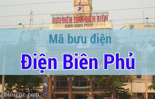 Mã bưu điện Điện Biên Phủ, Điện Biên