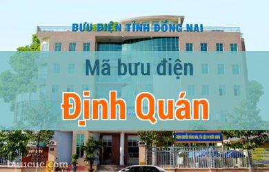 Mã bưu điện Định Quán, Đồng Nai