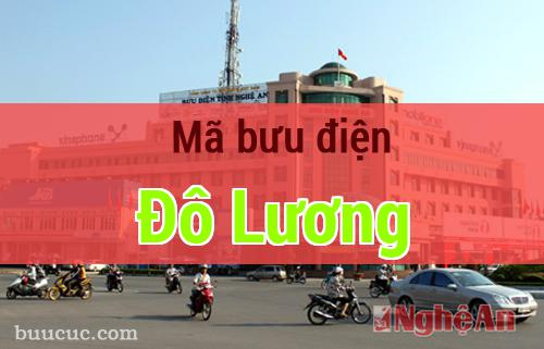 Mã bưu điện Đô Lương, Nghệ An