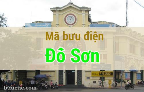 Mã bưu điện Đồ Sơn, Hải Phòng