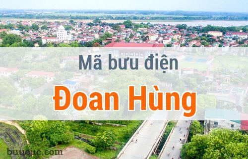 Mã bưu điện Đoan Hùng, Phú Thọ