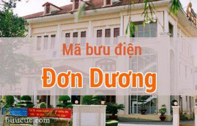 Mã bưu điện Đơn Dương, Lâm Đồng