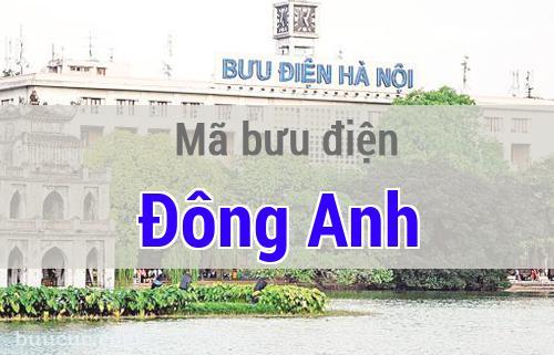 Mã bưu điện Đông Anh, Hà Nội