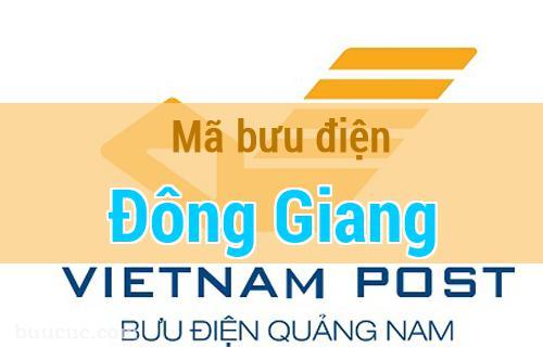 Mã bưu điện Đông Giang, Quảng Nam