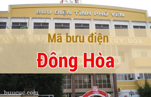 Mã bưu điện Đông Hòa, Phú Yên