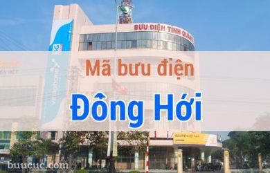 Mã bưu điện Đồng Hới, Quảng Bình