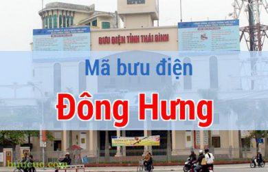 Mã bưu điện Đông Hưng, Thái Bình