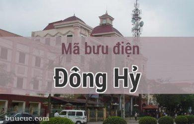 Mã bưu điện Đồng Hỷ, Thái Nguyên