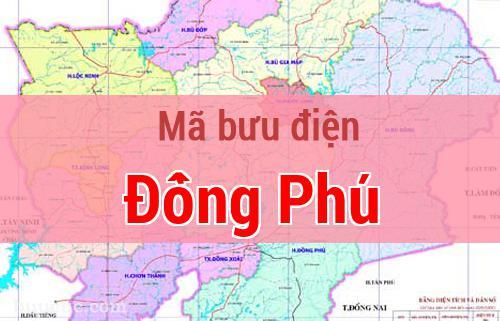Mã bưu điện Đồng Phú, Bình Phước