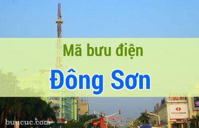 Mã bưu điện Đông Sơn, Thanh Hoá
