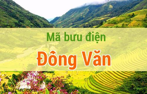 Mã bưu điện Đồng Văn, Hà Giang