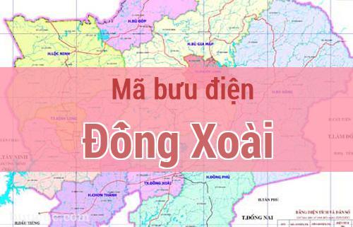 Mã bưu điện Đồng Xoài, Bình Phước