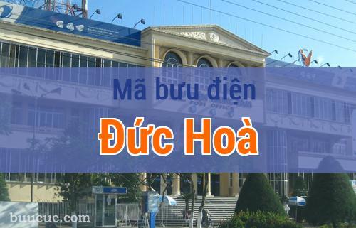 Mã bưu điện Đức Hoà, Long An