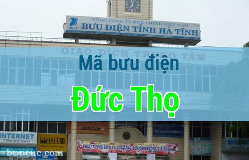 Mã bưu điện Đức Thọ, Hà Tĩnh