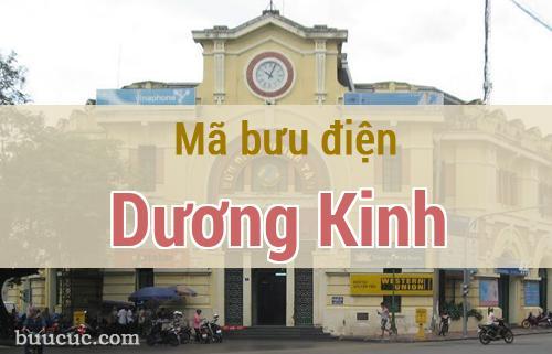 Mã bưu điện Dương Kinh, Hải Phòng