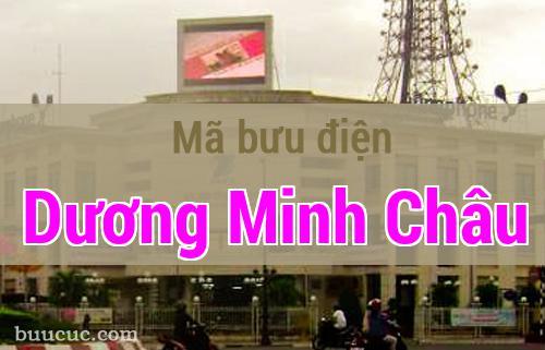 Mã bưu điện Dương Minh Châu, Tây Ninh