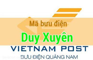 Mã bưu điện Duy Xuyên, Quảng Nam
