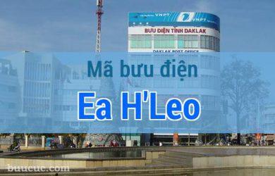 Mã bưu điện Ea H'Leo, Đắk Lăk