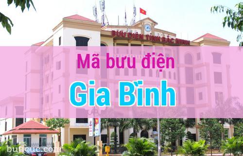 Mã bưu điện Gia Bình, Bắc Ninh
