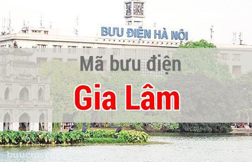 Mã bưu điện Gia Lâm, Hà Nội