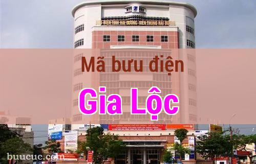 Mã bưu điện Gia Lộc, Hải Dương