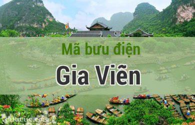 Mã bưu điện Gia Viễn, Ninh Bình