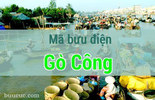 Mã bưu điện Gò Công, Tiền Giang